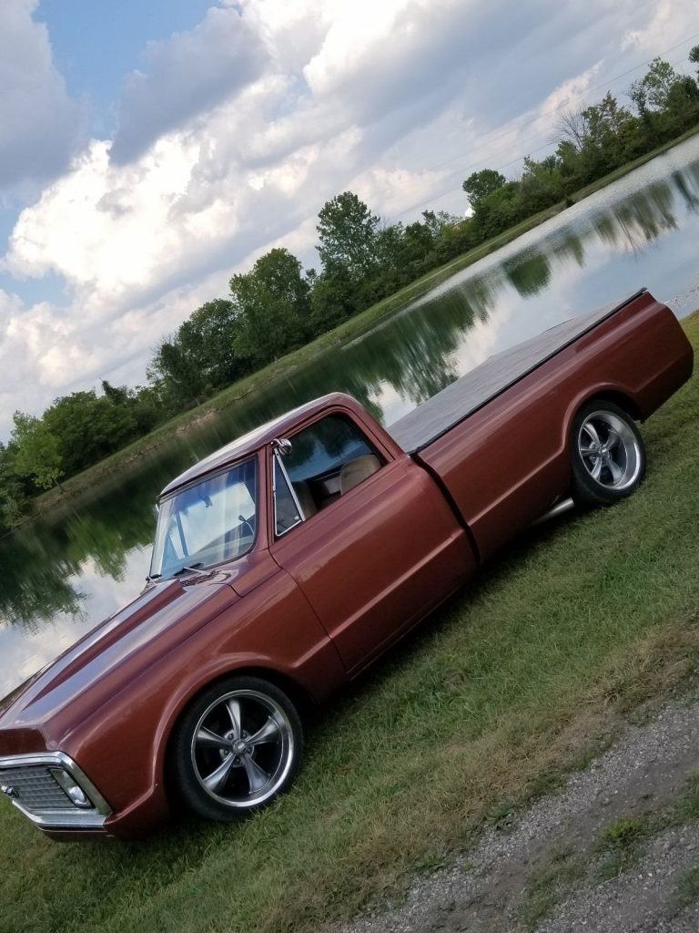 clean and sharp 1970 Chevrolet C 10 custom truck
