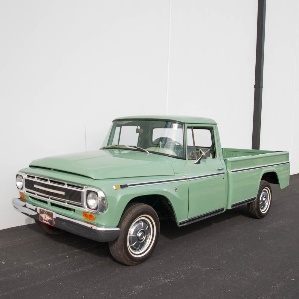 frame off restored 1968 international harvester 100c vintage truck for sale. Black Bedroom Furniture Sets. Home Design Ideas