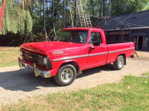 little rust 1968 Ford F 100 vintage for sale