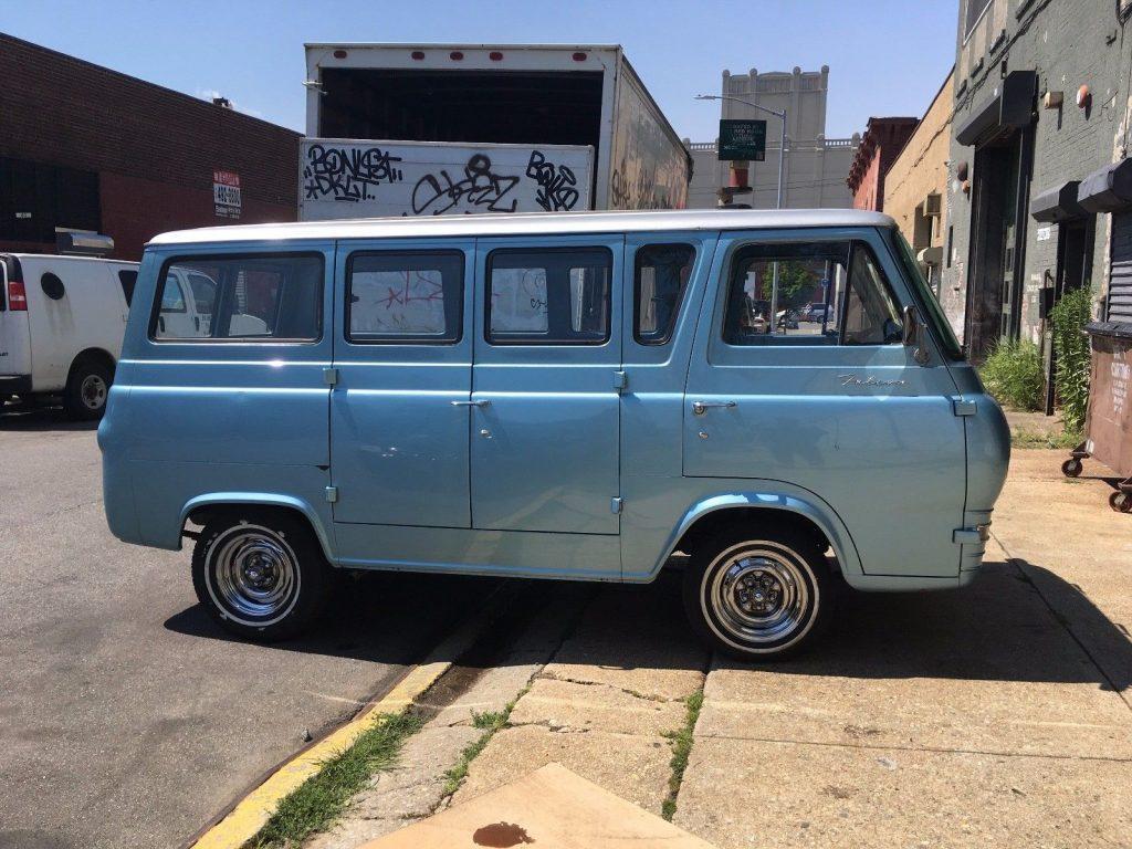 new engine 1966 ford e series van vintage for sale. Black Bedroom Furniture Sets. Home Design Ideas