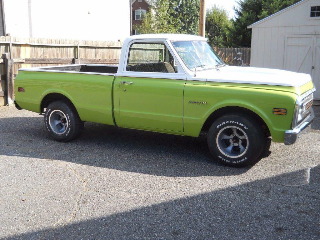 new paint 1970 Chevrolet C 10 vintage