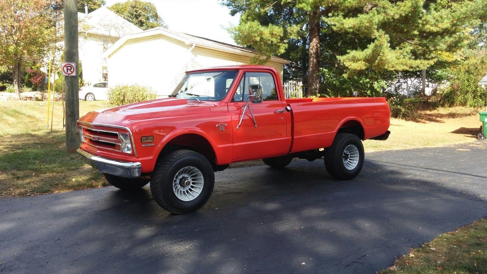 older restoration 1968 chevrolet c 10 vintage truck for sale. Black Bedroom Furniture Sets. Home Design Ideas