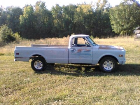 restored and modified 1968 Chevrolet Pickups Longhorn vintage truck for sale