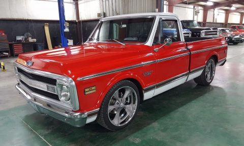 solid body 1970 Chevrolet C 10 CST Pickup vintage for sale