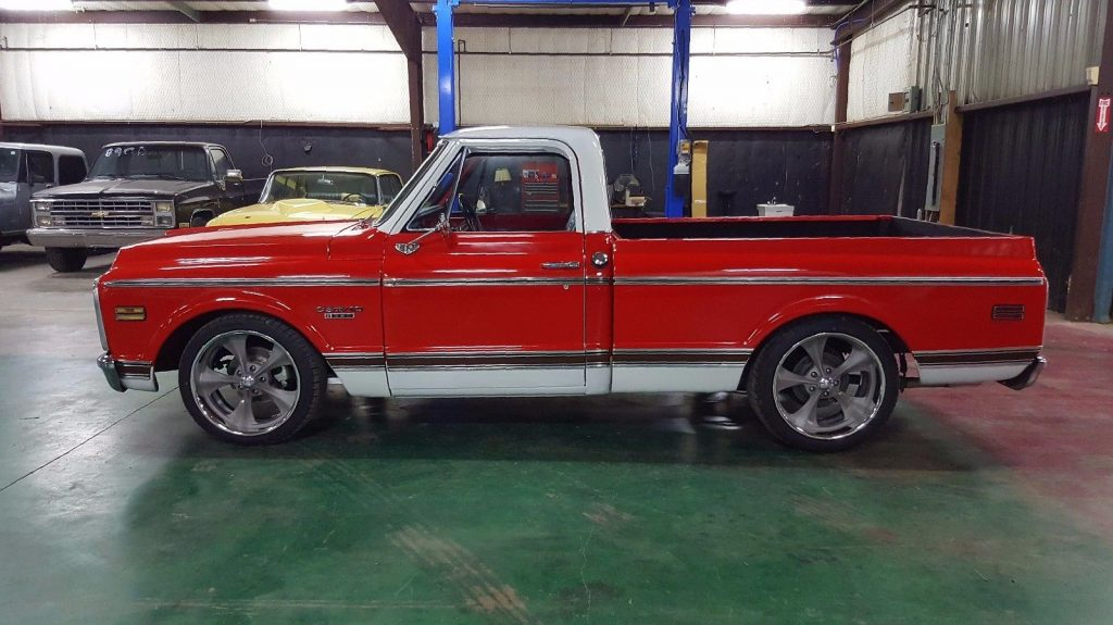 solid body 1970 Chevrolet C 10 CST Pickup vintage