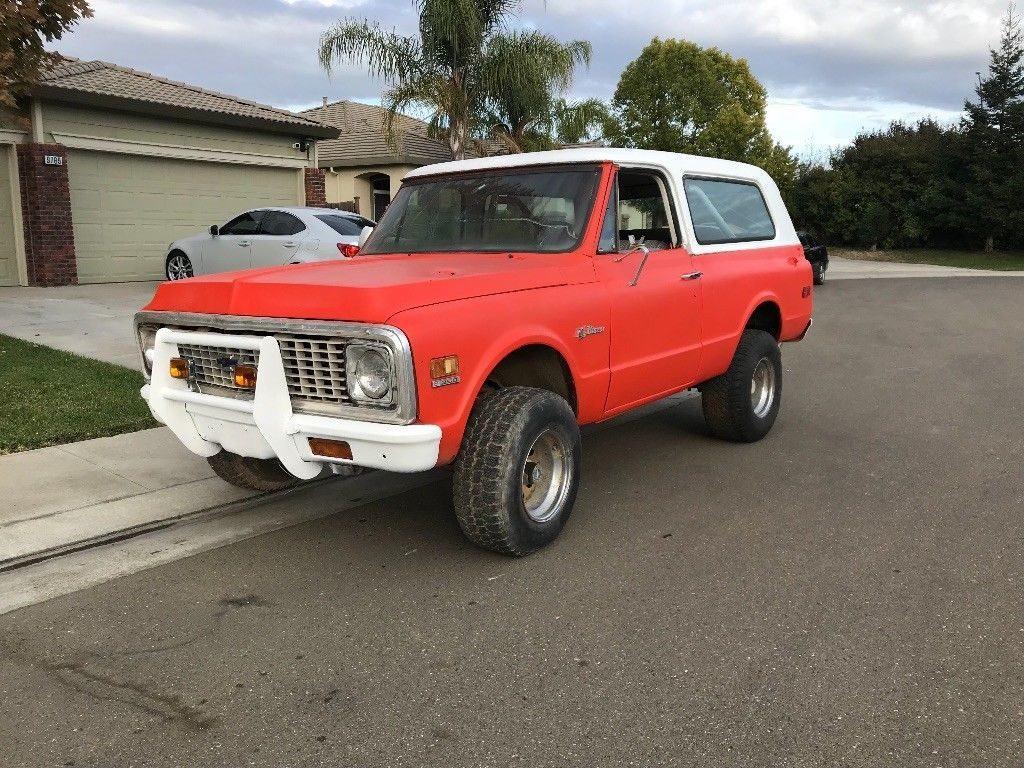 all complete 1972 Chevrolet Blazer vintage
