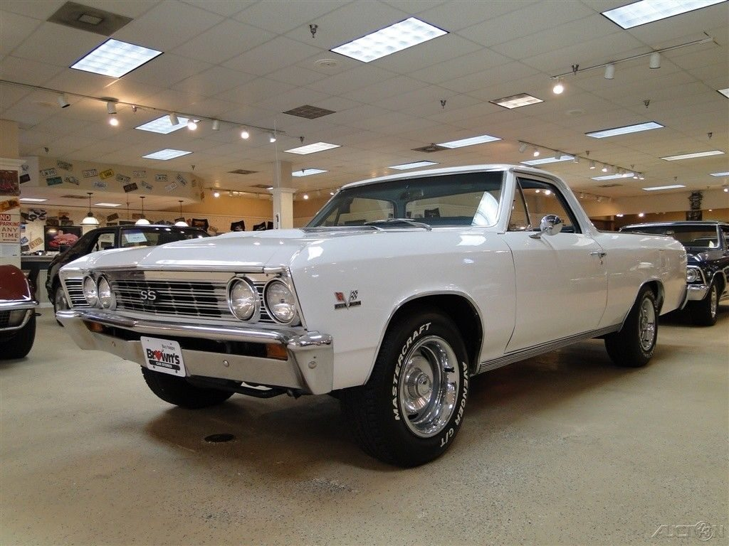 clean 1967 Chevrolet El Camino vintage