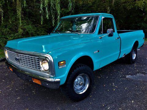 complete restoration 1972 Chevrolet C 10 Cheyenne vintage for sale