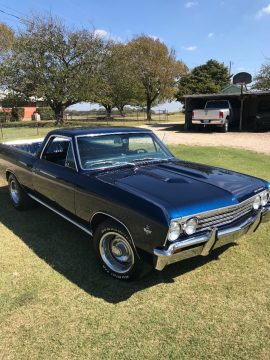 fully restored 1967 Chevrolet El Camino vintage for sale