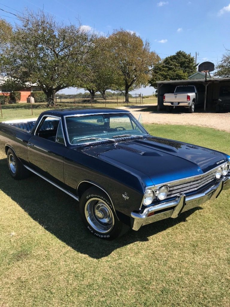 fully restored 1967 Chevrolet El Camino vintage