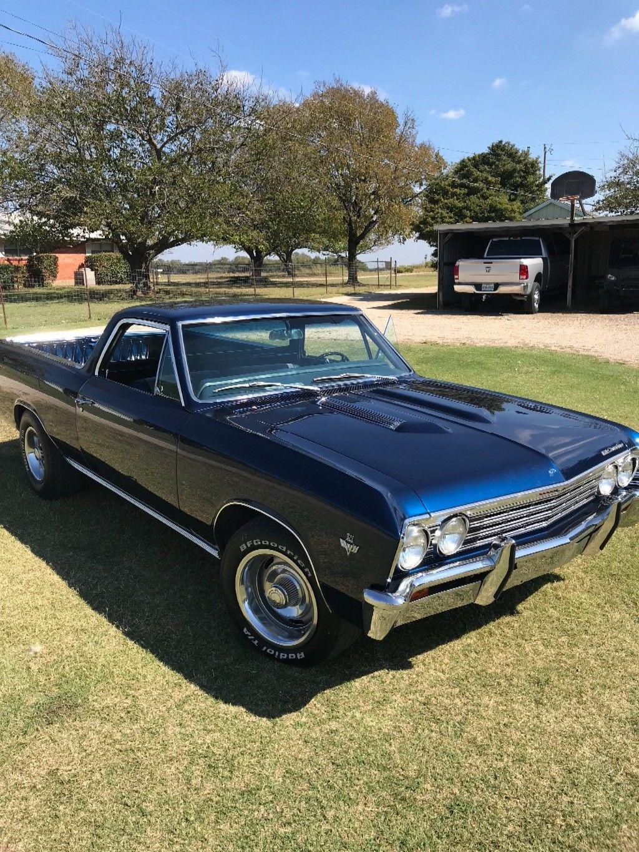 fully restored 1967 Chevrolet El Camino vintage for sale