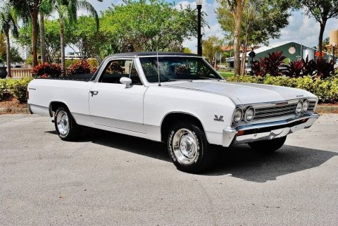 laser straight 1967 Chevrolet El Camino vintage for sale