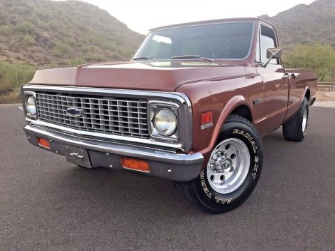 many extras 1972 Chevrolet Pickups vintage for sale