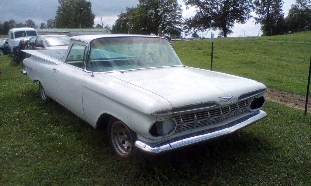 needs work 1959 Chevrolet El Camino vintage