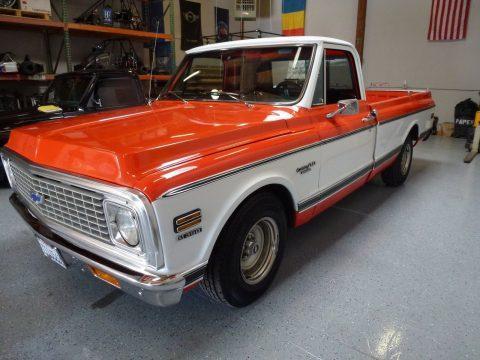 older repaint 1972 Chevrolet C 10 DELUXE vintage for sale