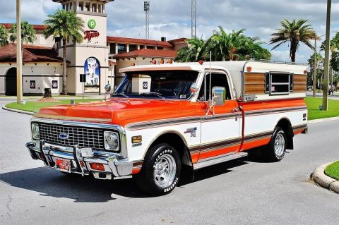 restored one of a kind 1972 Chevrolet C 10 Cheyenne Custom vintage for sale