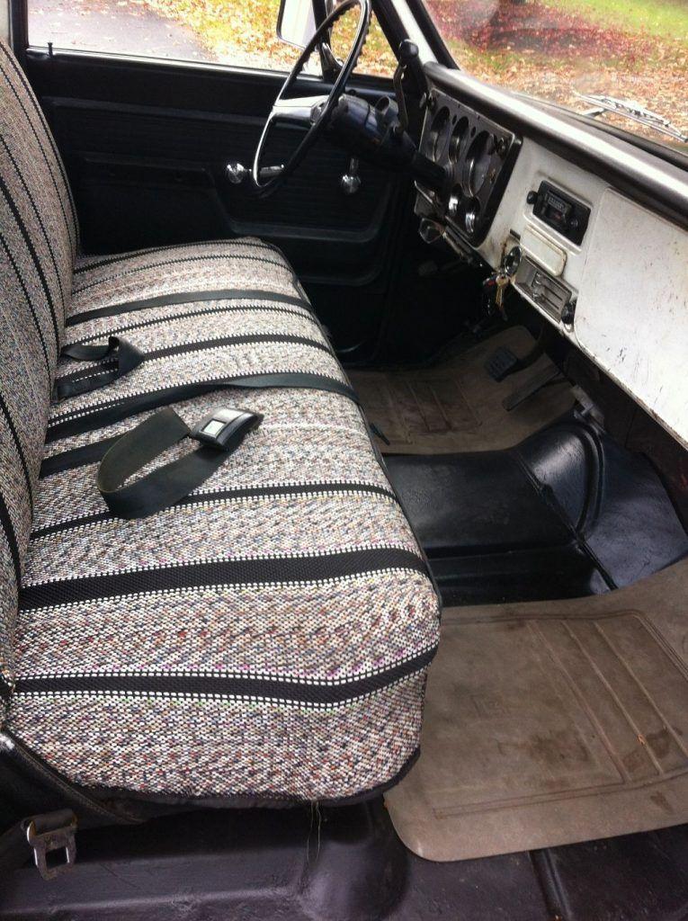 rust free 1972 Chevrolet C 10 Custom Camper vintage