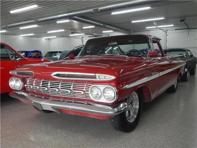 solid 1959 Chevrolet El Camino vintage