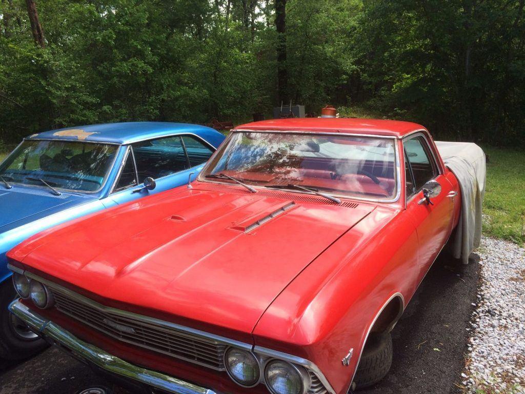 Solid 1966 Chevrolet El Camino Vintage For Sale