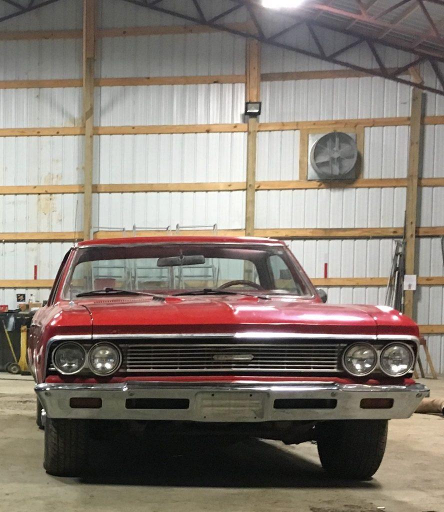 solid 1966 Chevrolet El Camino vintage
