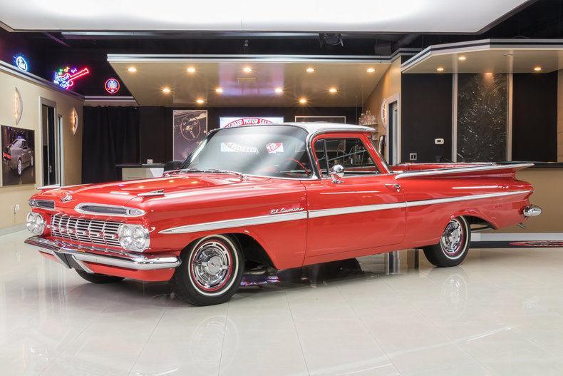 unique 1959 Chevrolet El Camino vintage