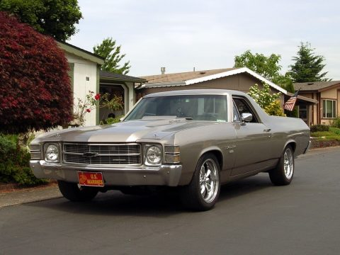 custom wheels 1971 Chevrolet El Camino vintage for sale