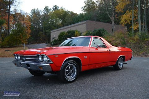 Extremely clean 1969 Chevrolet El Camino vintage for sale