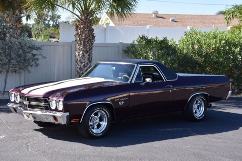 four on the floor 1970 Chevrolet El Camino SS 454 vintage pickup for sale