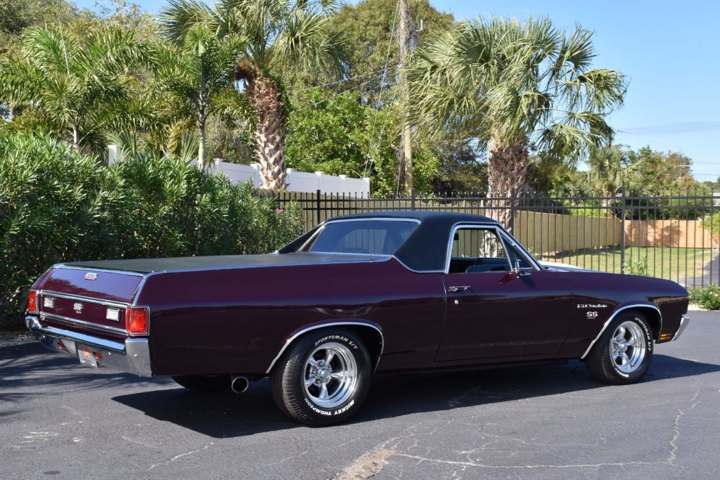 four on the floor 1970 Chevrolet El Camino SS 454 vintage pickup