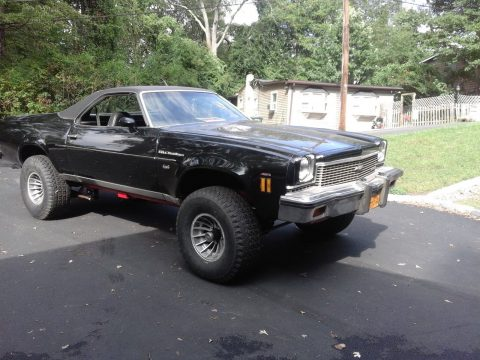 lifted 1973 Chevrolet El Camino vintage for sale