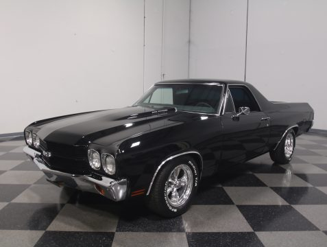 lowered 1970 Chevrolet El Camino vintage for sale