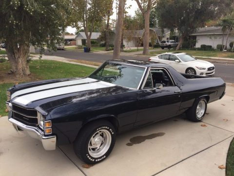 new engine 1971 Chevrolet El Camino vintage for sale