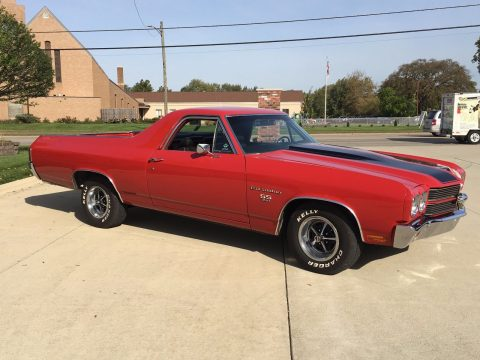 nice and clean 1970 Chevrolet El Camino vintage for sale