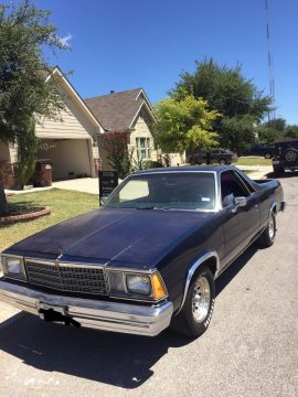 rebuilt engine 1980 Chevrolet El Camino vintage for sale