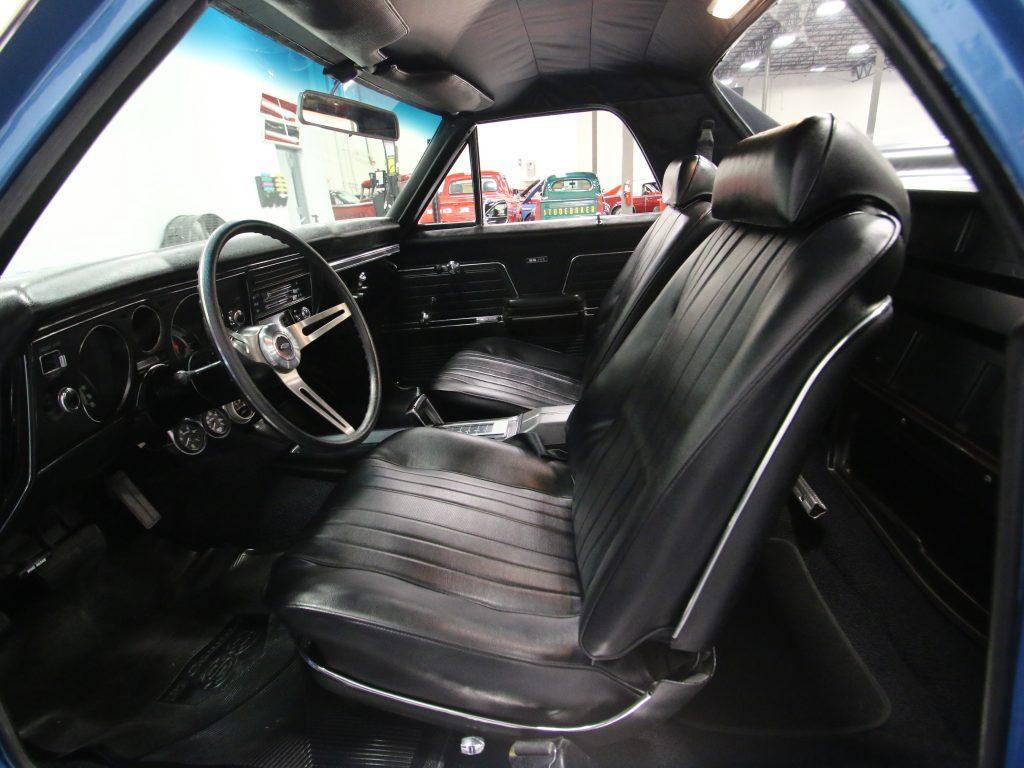 restored 1969 Chevrolet El Camino vintage