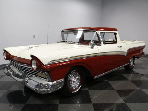 big block 1957 Ford Ranchero vintage pickup for sale