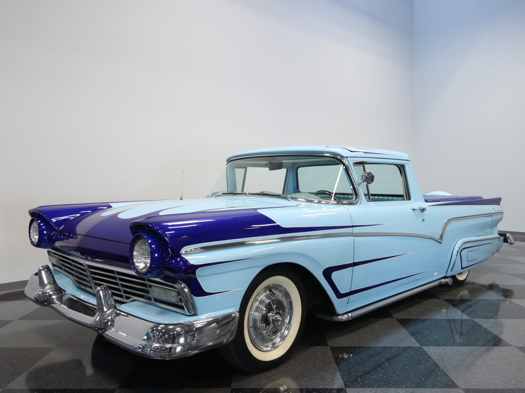 classy 1957 Ford Ranchero vintage truck for sale