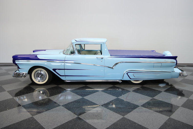 classy 1957 ford ranchero vintage truck for sale. Black Bedroom Furniture Sets. Home Design Ideas