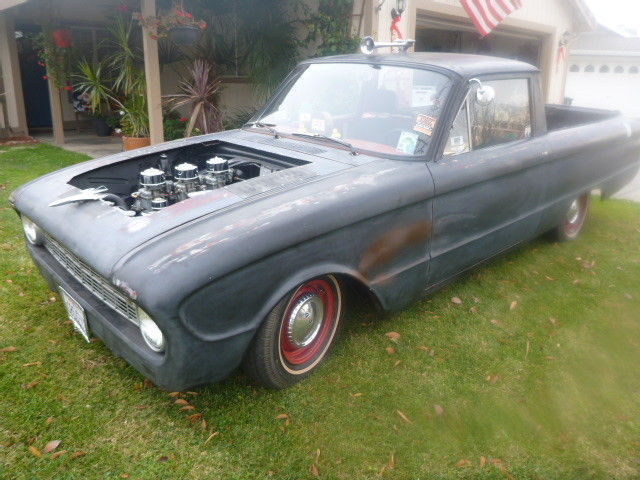 customized 1960 Ford Ranchero vintage pickup