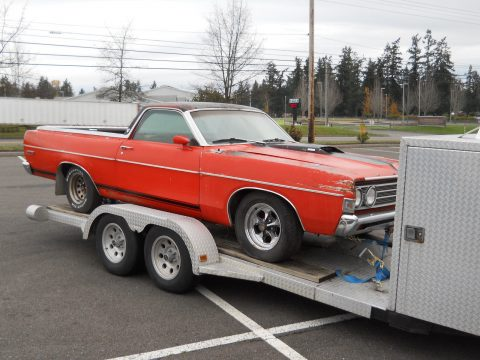 needs work 1969 Ford Ranchero GT 500 RIO GRANDE vintage for sale