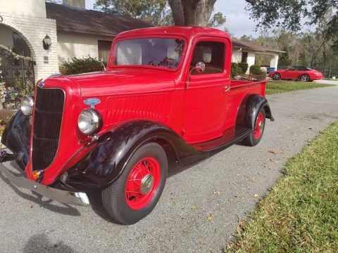 newer flathead 1935 Ford vintage truck for sale