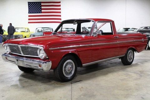 older repaint 1965 Ford Falcon Ranchero vintage pickup for sale