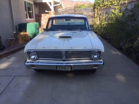recently completed 1965 Ford Ranchero vintage pickup for sale