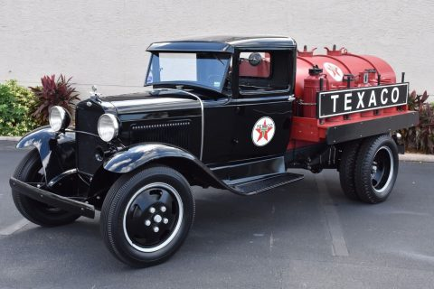 restored 1931 Ford Pickups Tanker vintage for sale