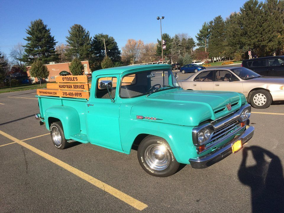 rust free 1960 Ford F 100 PICKUP vintage for sale