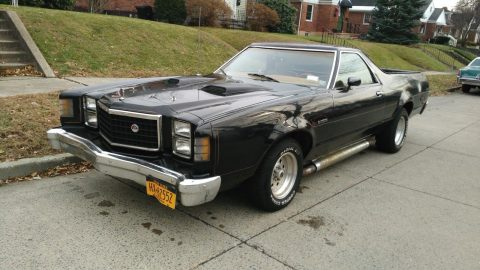 sharp 1978 Ford Ranchero vintage pickup for sale