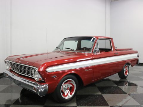 swapped engine 1964 Ford Ranchero vintage pickup for sale