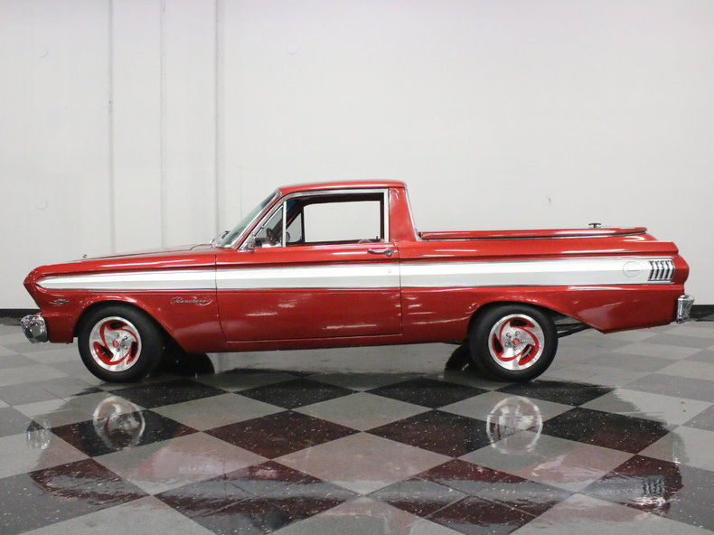swapped engine 1964 Ford Ranchero vintage pickup