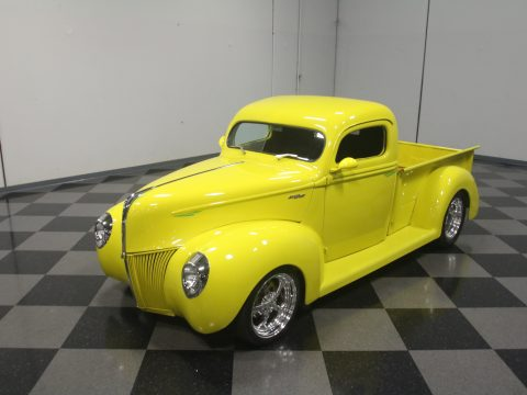 Chevy engine 1940 Ford Pickups vintage for sale