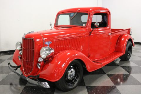 newer engine 1936 Ford 1/2 Ton Pickup vintage for sale